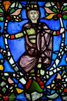 Stained Glass; York Minster, England.