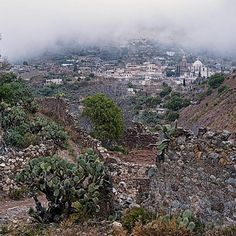 Remembering Real de Catorce #rd14 #nofilter #México #realdecatorce #getoutdoors #hike #hikers #landscape #landscapelovers #nature #naturelovers #fog #trail #mexicopin #travel #clouds