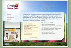 Ozark Natural Foods/  Designer: Tom Hapgood