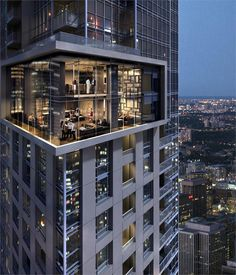 88 Scott in #Toronto. Cool #Condo.  ~ Great pin! For Oahu architectural design visit http://ownerbuiltdesign.com