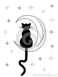"""Résultat de recherche d'images pour """"silhouette chat de dos"""""""