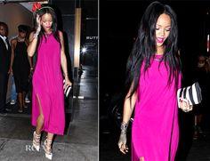 Rihanna In Helmut Lang � Butter Restaurant