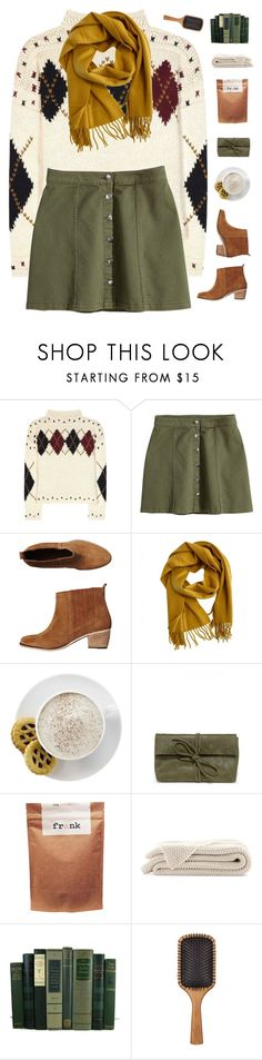 """""""A Perfect fall day"""" by genesis129 ❤ liked on Polyvore featuring Isabel Marant, H&M, Tigerlily, Hermès, Mr. Coffee, LULUS, Paul Frank and Aveda"""