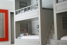 77+ Built In Bunk Bed Dimensions - Interior Design Bedroom Ideas Check more at http://imagepoop.com/built-in-bunk-bed-dimensions/ #BedroomInteriorDesign
