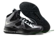 Nike Lebron X (10) Black Diamond Style 541100-001
