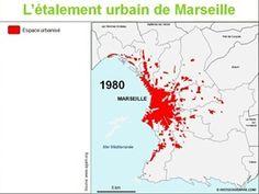 Marseille urbanisation en 1980