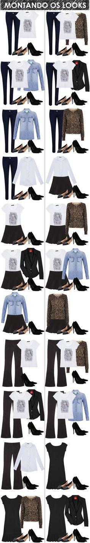 Peças essenciais de um guarda-roupa feminino