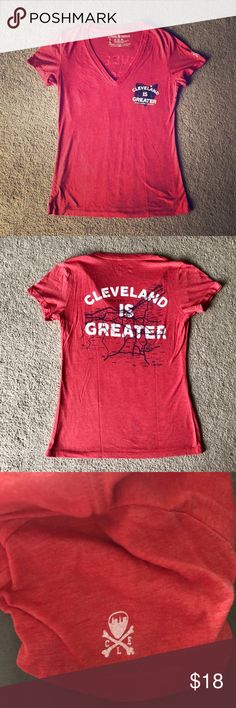 f709d12ac655 Cleveland is Greater Tee. Large. EUC! Cleveland Clothing Company. Size  large.