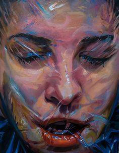 "Scott Hutchison - Plastic #2 - 11"" x 14"" Oil on Linen"