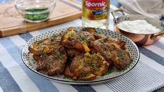 Cartofi crocanti cu sos de usturoi - reteta video Good Food, The Creator, Vegetarian, Tasty, Beef, Youtube, Chef Recipes, Cooking, Meat