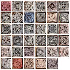 CROCHET BLANKET patterns/crochet baby blanket/wedding | Etsy Crochet Blocks, Granny Square Crochet Pattern, Crochet Squares, Crochet Blanket Patterns, Baby Blanket Crochet, Crochet Baby, Popular Crochet, Vintage Blanket, Yarn Shop