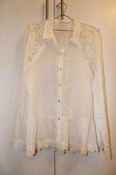Camisa chique Le Lis Blanc