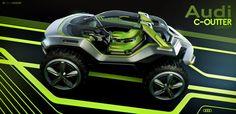Audi C Outter Imágenes CGI de autos por Tiago Aiello