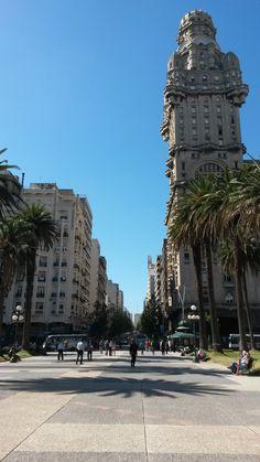 Montevideo - Uruguay - Plaza da independencia