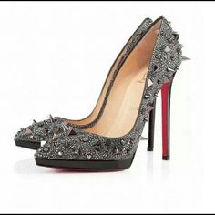 """Spikes.... """"Red Bottoms"""""""