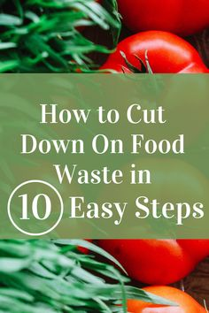 Food waste is a huge issue in many parts of the world. Here are 10 easy ways to cut down on food waste, save the earth, and your pockets! Frugal Tips, Frugal Meals, Veggie Stock, Fruit Infused Water, Save Money On Groceries, Food Waste, Fruits And Veggies, Money Saving Tips, Meal Planning