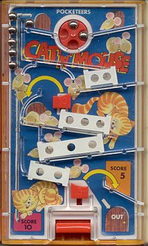 Flipper Pocket  Cat y Mouse