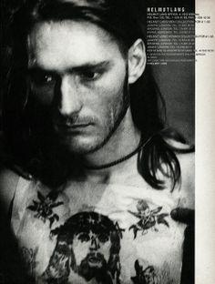 Helmut Lang Ad in i-D No. 113 Feb. 1993