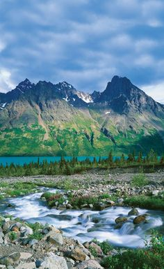 Lake Clark National Park, Alaska.I want to go see this place one day.Please check out my website thanks. www.photopix.co.nz