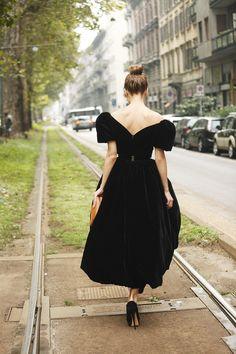 Fotos street style Milan Fashion Week: Ulyana Sergeenko