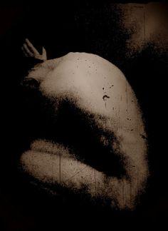 Sacrificium/ Art of Marie Lundvall & Peder Bjoerk. //This photograph was published in Lozenge Magazine, No. 2 (2011).