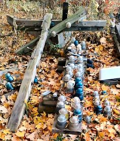 Telegraph poles and glass insulators. Canning Jars, Mason Jars, Transmission Tower, Porcelain Insulator, Electrical Projects, Glass Insulators, Watering Cans, Drilling Holes, Old Bottles