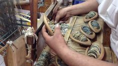This is the weaving room of Sevinch Passementerie Passementerie, Loom Weaving, Washer Necklace, Detail, Youtube, Room, Macrame, Weave, Fashion
