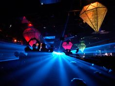 São Paulo Nightclub - Clubgoers are lit by bright strobes while dancing at a discotheque in São Paolo. Dancing and nightlife are popular in the nation of nearly 200 million. São Paulo, with some 10.9 million people, is Brazil's largest city—and one of the world's largest metropolises.