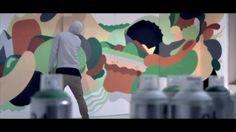 L'Atelier BNP Paribas | Numa Paris | By NINJAZ X GREMS. Conception, direction artistique et vidéo par Ninjaz (www.ninjaz.fr) Artwork par Gre...