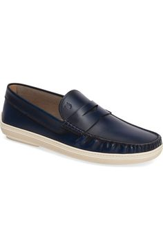 TOD'S Marlin Penny Loafer (Men). #tods #shoes #flats