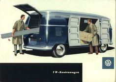 VW - 1956 - VW-Kastenwagen - w 1/14/2 - [1525]-1