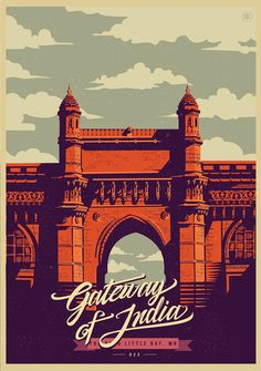 MUMBAI, by ranganath krishnamani on Behance | Celebrating | India | Art Direction | Illustration | City |