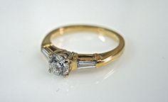 Charming Ring   #diamond #engagement #weddings #vintage