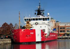 Christmas Ship 2010    CHICAGO -- The U.S. Coast Guard Cutter Mackinaw lies at the Navy Pier carrying more than 1,200 Christmas trees destined for deserving Chicago families, Dec. 3, 2010. The trees will be offloaded by volunteers from groups including the Sea Cadets, Sea Scouts and Young Marines before being distributed to familes selected by the Ada S. Mckinley Community Services organization. (U.S. Coast Guard photo by Petty Officer 3rd Class George Degener.)