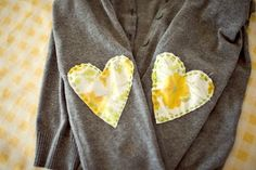 DIY elbow patches! {dear sweater I have in mind, you are about to become adorable. ;) }