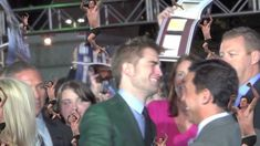 Robert Pattinson's reaction to seeing Jumping Rob at the Breaking Dawn Part 2 Premiere
