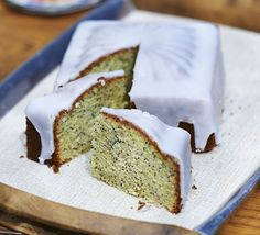 Lemon and poppyseed cake is a baking classic, packed with zesty flavours and drenched in icing for the ultimate treat alongside a cuppa