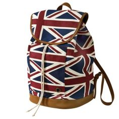 A little late for the olympics now but why not stay in spirit?!     Mossimo Supply Co. Canvas London Print Backpack. $29.99
