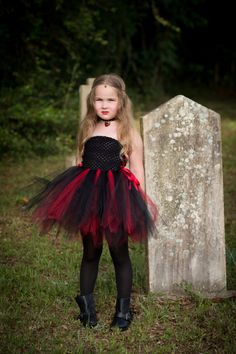 Newborn Size 9 Black and Red Vampire Inspired by krystalhylton