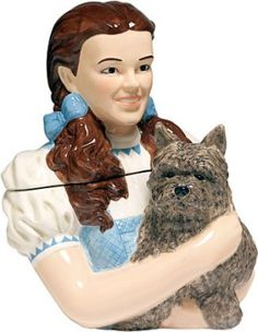 The Wizard Of Oz Dorothy Limited Edition Cookie Jar