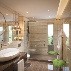 Three Bathrooms on Behance