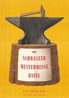 Peter Birkhaeuser, Schweizer Mustermesse Basel, 1951