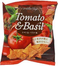 Frito-Lay Tomato & Basil Doritos (Tortilla Chips) $2.00 http://thingsfromjapan.net/frito-lay-tomato-basil-doritos-tortilla-chips/ #Japanese chips #Japanese Frito lay #Japanese snack