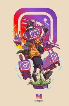 Thought I'd share this unique talent made by an Illustration artist Joseph Luna (Esoj Luna) from Cebu, Philippines. He took 20 iconic brands and personified them in his illustrations, turning them into unique and colorful characters. Dope Cartoon Art, Dope Cartoons, Cartoon Kunst, Fantasy Character Design, Character Concept, Character Art, Concept Art, Vexx Art, Digital Foto