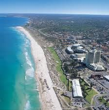 Perth Western Australia....see those white sand beaches...I grew up here...imagine as I started to travel the world it was a shock to see that all beaches were not like this!!  However Western Australia does not have a warm ocean current so I learnt to appreciate other beaches where the water was warmer!!  The older you get the less critical you become...and focus on the positives...well for me that is true..