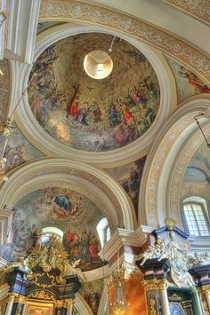 Dominican church, Krakow, Poland