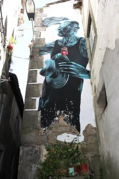 Pantónio New Mural In Fundão, Portugal