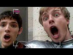 Bradley James and Colin Morgan