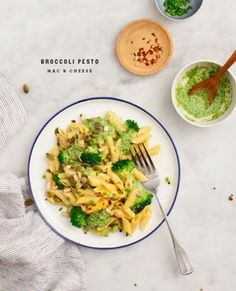Broccoli Pesto Mac & Cheese