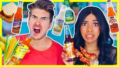 Joey Graceffa - Tasting Weird Soda Flavors! Today i try weird/gross soda flavors with teala dunn!